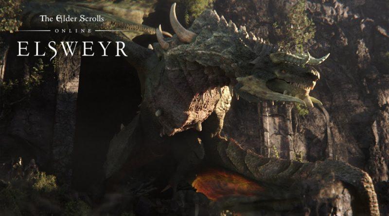Elder Scrolls Online - Elsweyr - Dragon